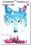artboxONE Kalender 2019 Lone Wolf Wandkalender A3 Tiere