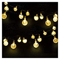 Mr.Twinklelight Solar String Lights 30 LED 4.5M Waterproof Solar Fairy Light Festival Lights Garden Lights Celebrate Wedding/Birthday/Christmas Party Warm White [Energy Class A++]
