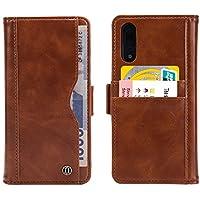 Kucosy Huawei P202en 1Premium Retro Piel PU Flip Buzón Wallet Cover