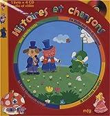 Histoires et chansons : Une souris verte ; La Belle au bois dormant ; Le Petit chaperon rouge ; Il était une bergère (4CD audio)