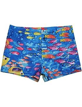 iEFiEL Bañador Ropa de Natación para Niño Chico Traje de Baño Pantalones Cortos Vacaciones Playa Verano