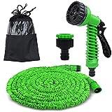 AK KYC Dehnbar Gartenschlauch Wasserschlauch Flexischlauch Bewässerungsschlauch Zauberschlauch 50 FT Schlauch für Bewässerung