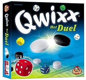 White Goblin Games Qwixx: Het Duel Juego de apuestas Niños y Adultos - Juego de Tablero (Juego de apuestas, Niños y Adultos, 15 min, Niño/niña, 8 año(s), Holandés)