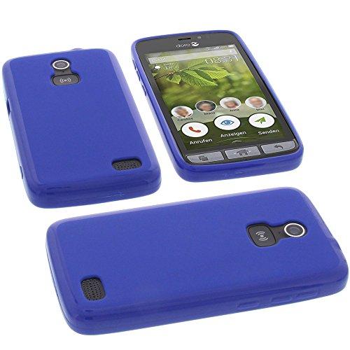 foto-kontor Funda para Doro 8031 Protectora de Goma TPU para móvil Azul