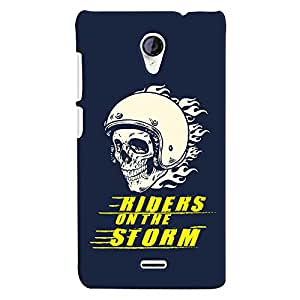 ColourCrust Micromax Unite 2 A106 Mobile Phone Back Cover With Riders On The Storm - Durable Matte Finish Hard Plastic Slim Case