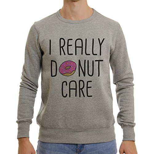 I For Sure Donut Care Logotype Majestic Small Unisex Sweater