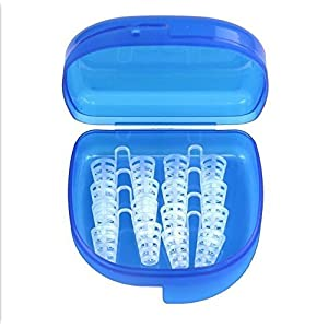 Schnarchstopper, Premium Anti Schnarch Mittel Nasendilatatoren für Nasenpflaster, Nasenklammer mit antibakterieller und praktischer Aufbewahrungsbox (8 Stück)