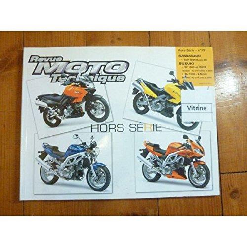 RRMTHS013.1 REVUE TECHNIQUE MOTO - KAWASAKI KLV 1000 - SUZUKI SV1000, SV1000S, DL1000 V-STROM par ETAI