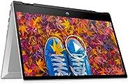 "HP Pavilion x360 (2021) 14"" (35.56cms) FHD Touchscreen Laptop, 11th Gen Core i3, 8 GB RAM, 256GB SSD, 2-i"
