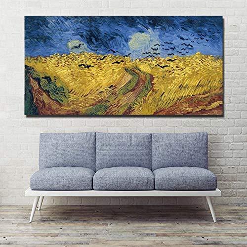 RTCKF Farfalla di Colore Astratta Pittura murale Stampa Artistica Soggiorno Decorazioni per la casa Stampa Poster Foto (Senza Cornice) A4 30x60 cm