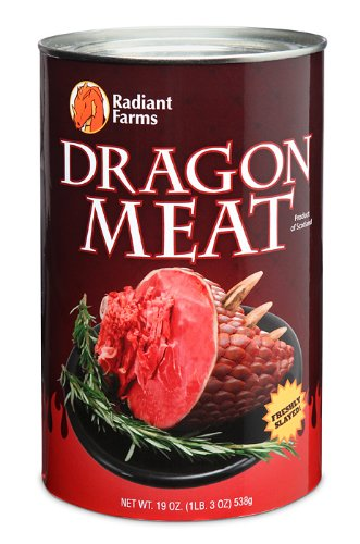 Drachen Dosenfleisch - Canned Dragon Meat by ThinkGeek