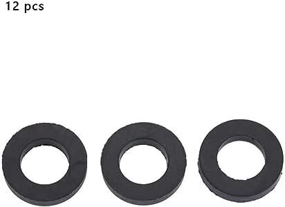Garosa 12 st/ücke Washer Ring Dusche Wasserhahn Gummi O-Ring Wasserleitung Gummi Ersatz f/ür Dichtscheibe Dichtungen Dichtung Wasserhahn Wasserleitung Ersatz 1
