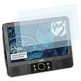 Bruni Schutzfolie für AEG DVD 4552 Folie - 2 x glasklare Displayschutzfolie