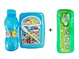 Raaya New Designing Lunch Box for Children's and Students with Pencil Box