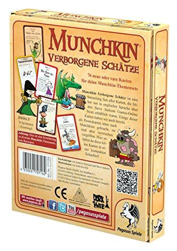 Pegasus-Spiele-17172G-Munchkin-Verborgene-Schtze