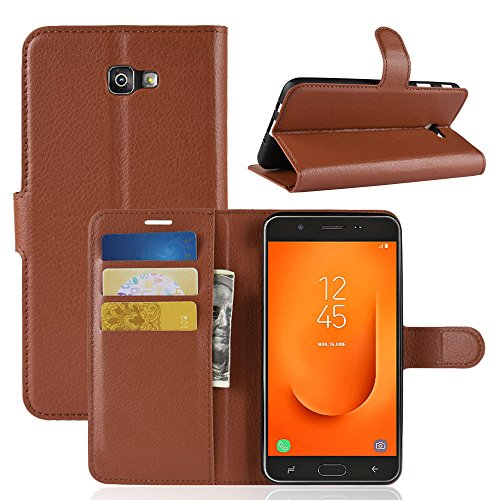 Samsung Galaxy J7 Prime 2 Fall, 02#Leather-Brown 2 Fall Brown