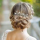 Aukmla - Horquillas para novia y dama de honor en boda, fiesta u ocasión casual (paquete de 2)