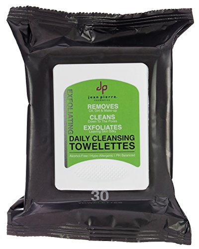 Jean Pierre Cosmetics Original Daily Cleansing Towelettes, 30 Count by Jean Pierre Cosmetics