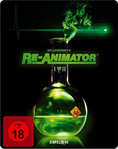 Bild von Re-Animator / Bride Of Re-Animator (2-Disc Steelbook Edition) [Blu-ray]