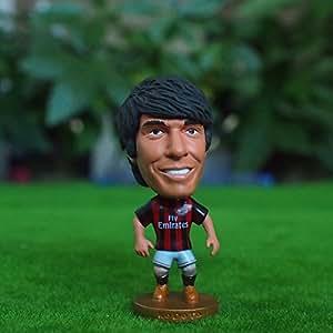 KaKa#22 AC Milan Home Classic Edition Football Figurine Soccer Star Figure Doll by Dreamy