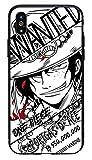 Générique Coque iPhone X et iPhone XS Luffy One Piece Japon Wanted Dessin Animé Silicone Souple