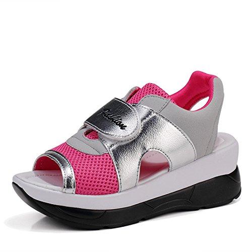 Zormey 2017 Mode Sommer Damen Schuhe Casual Sport Mesh Atmungsaktiven  Schuhe Frau Komfortable Keile Sandalen Spitze
