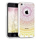 kwmobile Funda para Apple iPhone 5C - Case para móvil en TPU silicona - Cover trasero Diseño Sol...