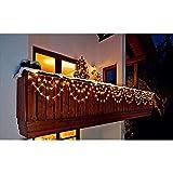 Unbekannt LED Lichterkette Bogen Outdoor Beleuchtung Weihnachten Weihnachtsbeleuchtung Haus