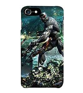 Apple iPhone 5c cartoon, dangerous cartoon, cartoon with sword Designer Printed High Quality Smooth hard plastic Protective Mobile Case Back Pouch Cover by Paresha