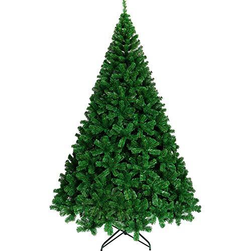 TOPYL 300cm Árbol De Navidad Artificial Árbol De Navidad Primo Bisagras Cáucaso árbol Completo w/Montaje Fácil, Sólido Soporte De...
