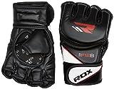Купить RDX MMA Handschuhe Kamfsport UFC Boxsack Sparring Training Grappling Gloves Freefight Sandsack Maya Hide Leder Punchinghandschuhe