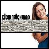 Küchenrückwand Premium Hart-PVC 0,4 mm selbstklebend Spritzschutz Küche Fliesenaufkleber & Fliesenfolie