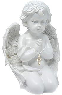 Cherub Angle sur une plaque Figurine Décoration Ornement Cadeau