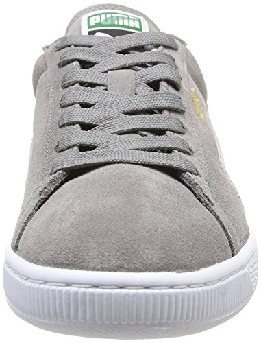 Puma Suede Classic+ , Baskets Basses Mixte Adulte Gris (Grey/White 66)