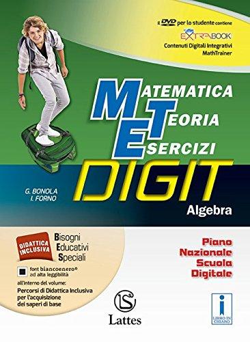 Matematica teoria esercizi digit. algebra. mi preparo-quaderno competenze e operativo. per la scuola media. con dvd-rom. con e-book. con espansione online: 3