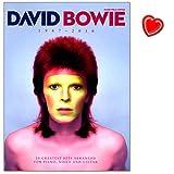 David Bowie 1947 - 2016 - Songbook enthält über 20 von David Bowies größten Hits seiner gesamten Karriere von 1969 b