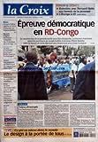 Telecharger Livres CROIX LA No 37583 du 27 10 2006 FORUM ET DEBATS ENTRETIEN AVEC BERNARD SPITZ SUR L AVENIR DE LA JEUNESSE L EUROPE A 27 EPREUVE DEMOCRATIQUE EN RD CONGO EDITORIAL VALEUR D EXEMPLE PAR DOMINIQUE QUINIO CE QUI VA MIEUX DANS LE MONDE LE DESIGN A LA PORTEE DE TOUS MONDE JACQUES CHIRAC APPELLE LA CHINE A ASSUMER SES RESPONSABILITES RELIGION L EGLISE DE FRANCE S INQUIETE DES EVOLUTIONS DE LA LITURGIE LA QUESTION DU JOUR COMMENT EXPLIQUER CETTE DOUCEUR AUTOMNALE FRANCE LES ANNONCES DE DOMIN (PDF,EPUB,MOBI) gratuits en Francaise