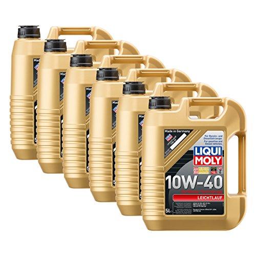 Preisvergleich Produktbild 6x LIQUI MOLY 1310 Leichtlauf 10W-40