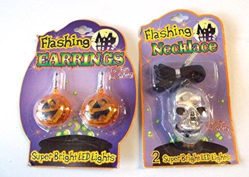 halloween-pierced-earrings-flashing-pumpkins-nip-lot-2-by-shopko