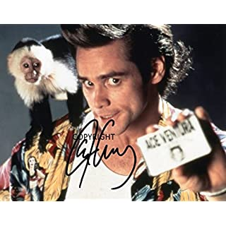 LIMITED EDITION JIM CARREY ACE VENTURA SIGNED PHOTOGRAPH + CERT PRINTED AUTOGRAPH