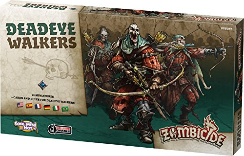 Edge Entertainment - Deadeye Walkers, Zombicide: Black Plague (EDGBP020)