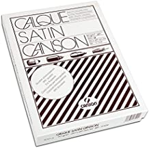 Canson 200017109 - Paquete 500 hojas papel vegetal satén, A4 - 21 x 29.7 cm