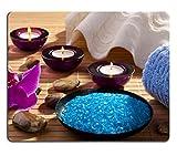 MSD Gaming Tapis de souris en caoutchouc naturel Image ID: 37819130Spa Sel de mer Soin du corps Relaxation Bougies aromatisées