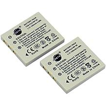 DSTE 2-Pieza Repuesto Batería para Fujifilm NP-40 NP-40N FinePix F460 F470 F480 F610 F650 F402 F403 F420 F455 F700 F710 F810 F811 J50 V10 Z1 Z2 Z3 Z5fd Camera