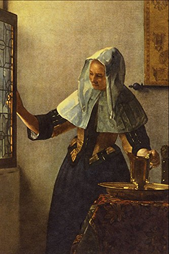 492002 _Young Woman With A Water Jug_ Jan Vermeer Van Delft A4 Photo Poster Print 10x8