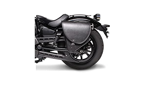 Arizona Noir Droite FXDB Sacoche Cavali/ère pour Harley Davidson Dyna Street Bob