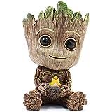 thematys Baby Groot Pot de Fleur - Figurine d'action pour Plantes et stylos du Film Classique - Parfait comme Cadeau - Je s'a