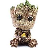 thematys® Baby Groot Maceta - Figura de acción para Plantas y bolígrafos de la película clásica - Perfecto como Regalo - Soy Groot (F (Grande))