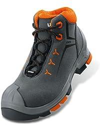 Uvex 2 S2 - Zapato de seguridad (suela para exterior, ligero, material exterior: terciopelo, varias tallas)