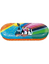 Fridolin 18716 Rosina Wachtmeister under the Rainbow funda de gafas Metal 16 x 6,6 x 2,8 cm), multicolor